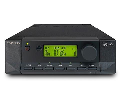 CYRUS Audio Phono Signature Vorverstärker | Frontansicht