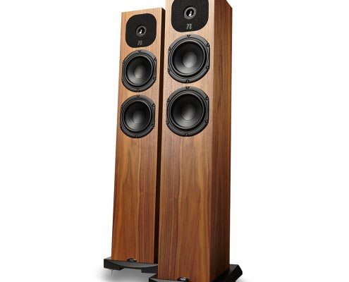 NEAT Acoustics Lautsprecher - Motive SX1 Nussbaum
