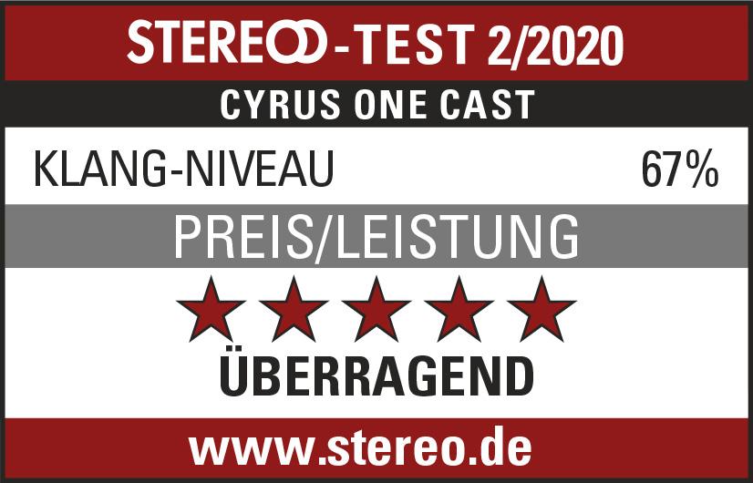 überragend Stereo Test 2/2020